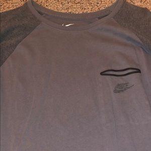 3/4 sleeve Nike gray XXL with pocket!